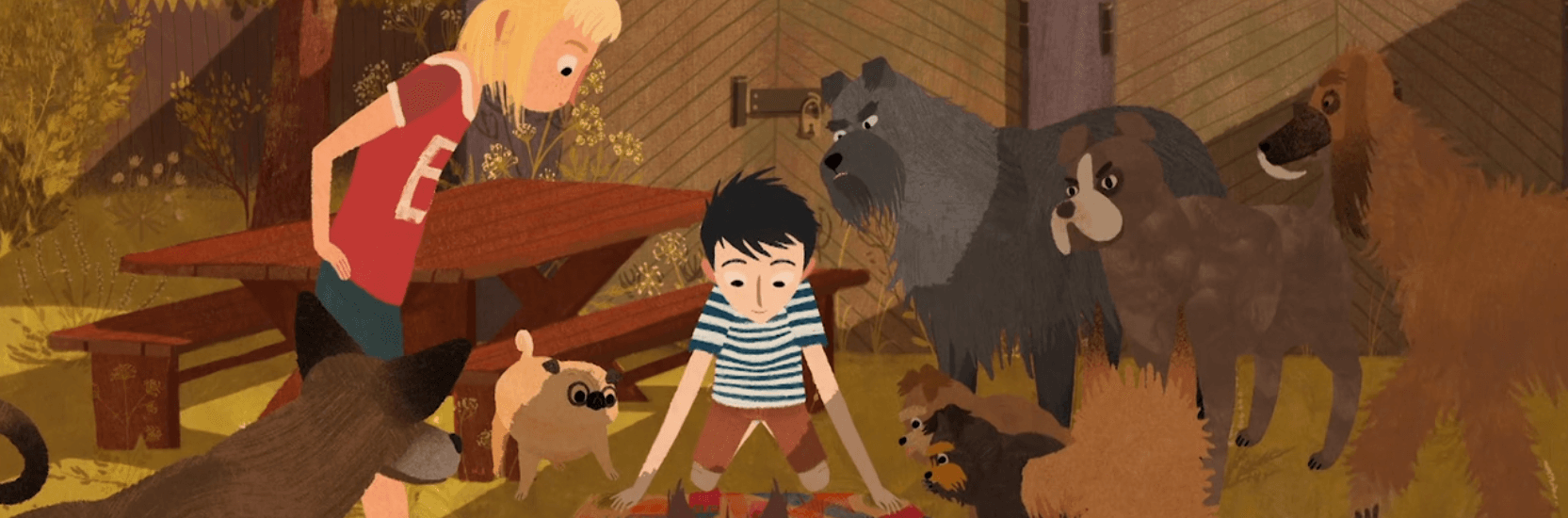 Cartoon Movie 2018 – Jacob, Mimmi and the talking dogs
