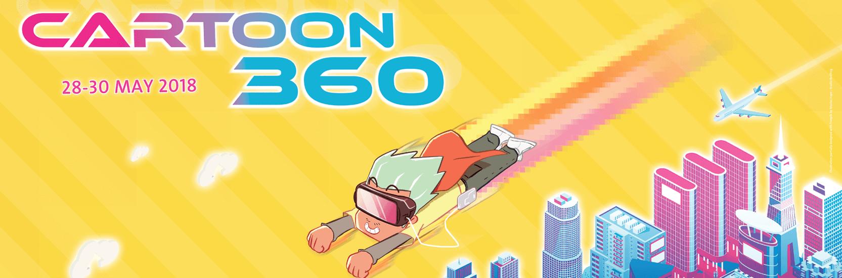 En route vers le Cartoon 360 de Lille !