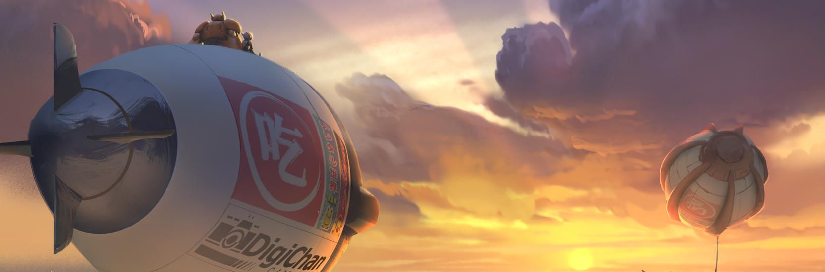 """Deux nouvelles images pour """"Big Hero 6"""" provenant de la D23 !"""