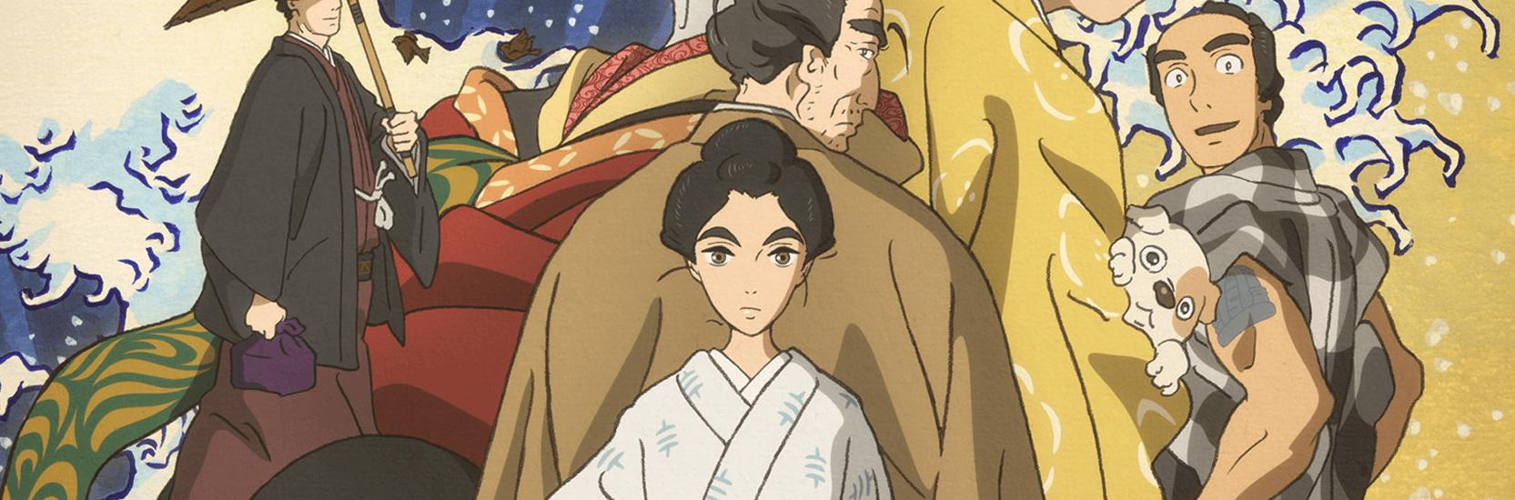 """Photos, affiches, bande-annonce : """"Miss Hokusai"""" se dévoile !"""