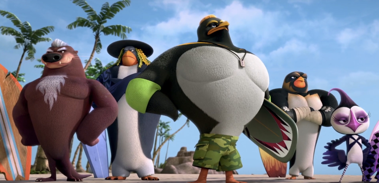 Les rois de la glisse reviennent dans «Surf's Up 2: Wavemania» !