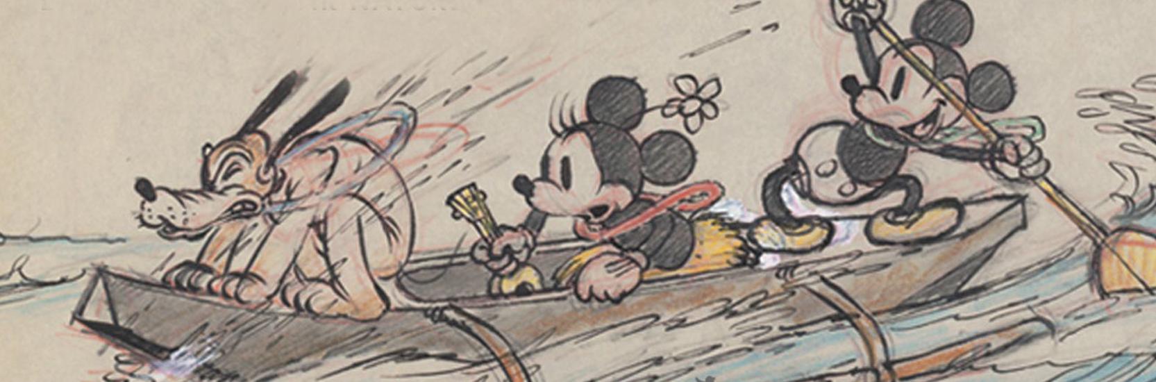 Exposition – Walt Disney, le mouvement par nature chez Art Ludique