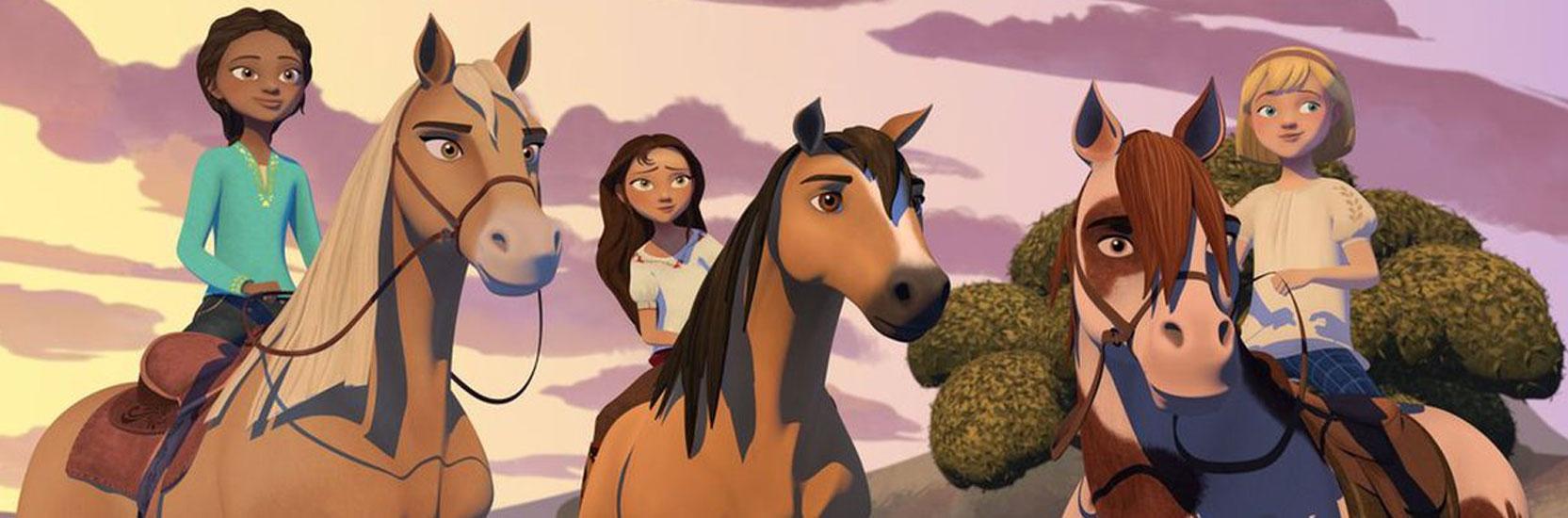 """""""Spirit : au galop en toute liberté"""", désormais disponible sur Netflix."""