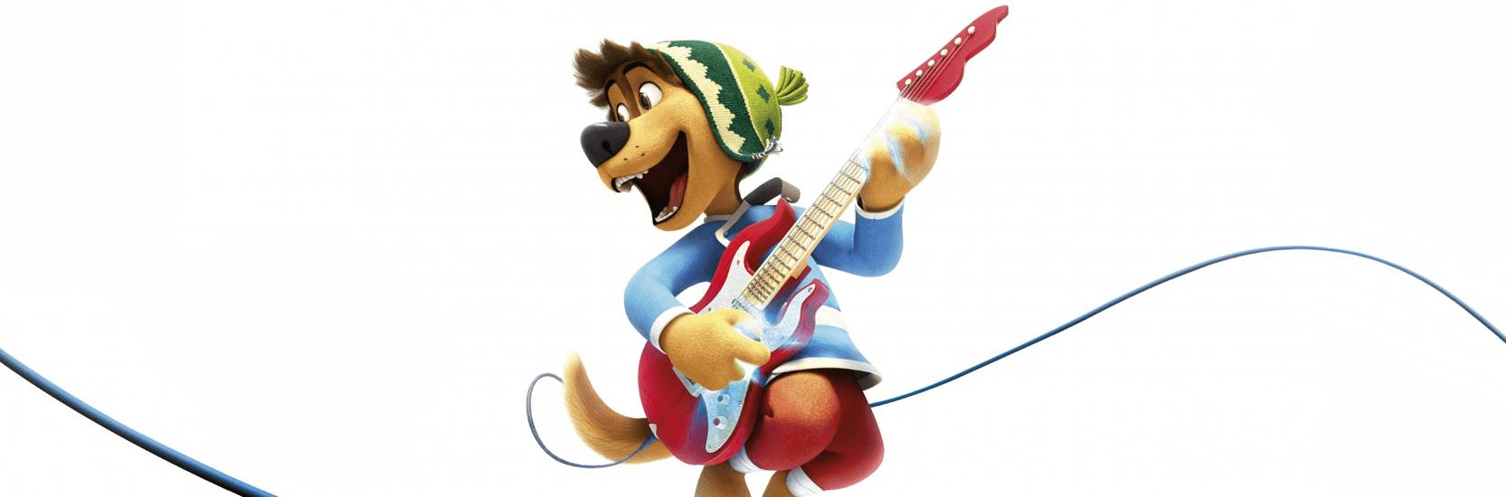 """Une bande-annonce US pour """"Rock Dog""""."""