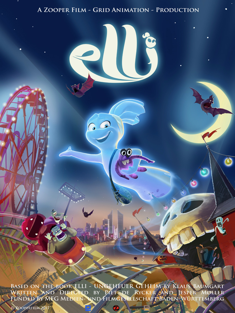 Affiche temporaire pour Elli and the Ghostly Ghost Train