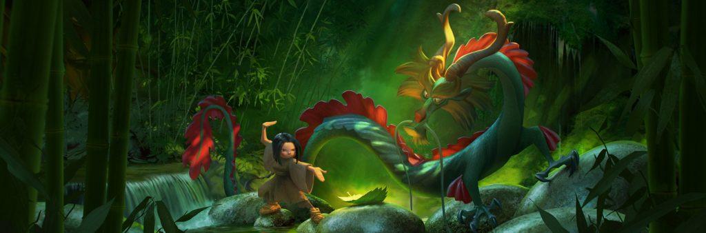 Concept Art pour le film d'animation Dragonkeeper