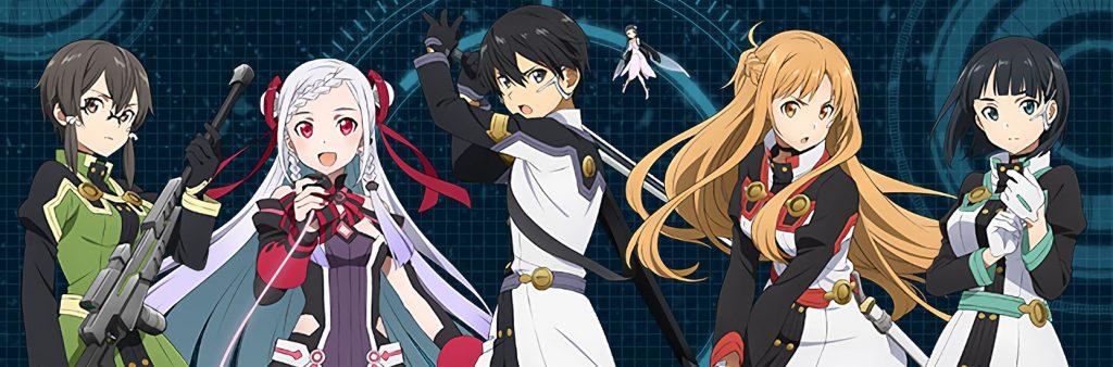 Les personnages de Sword Art Online : Ordinal Scale
