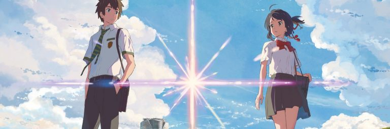 Mitsuha et Taki dans Your Name