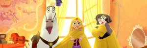 Raiponce et ses blonds cheveux dans Tangled Before Ever After