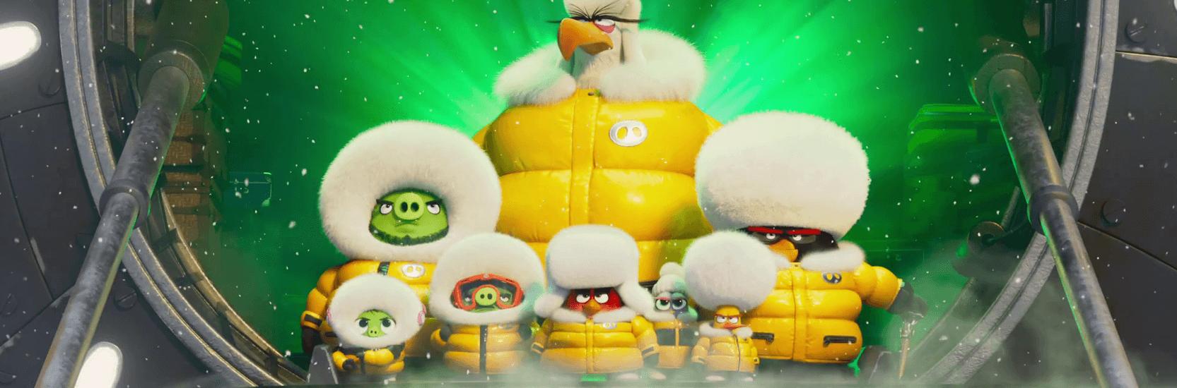 Les piafs rempilent pour «Angry Birds : Copains comme cochons»