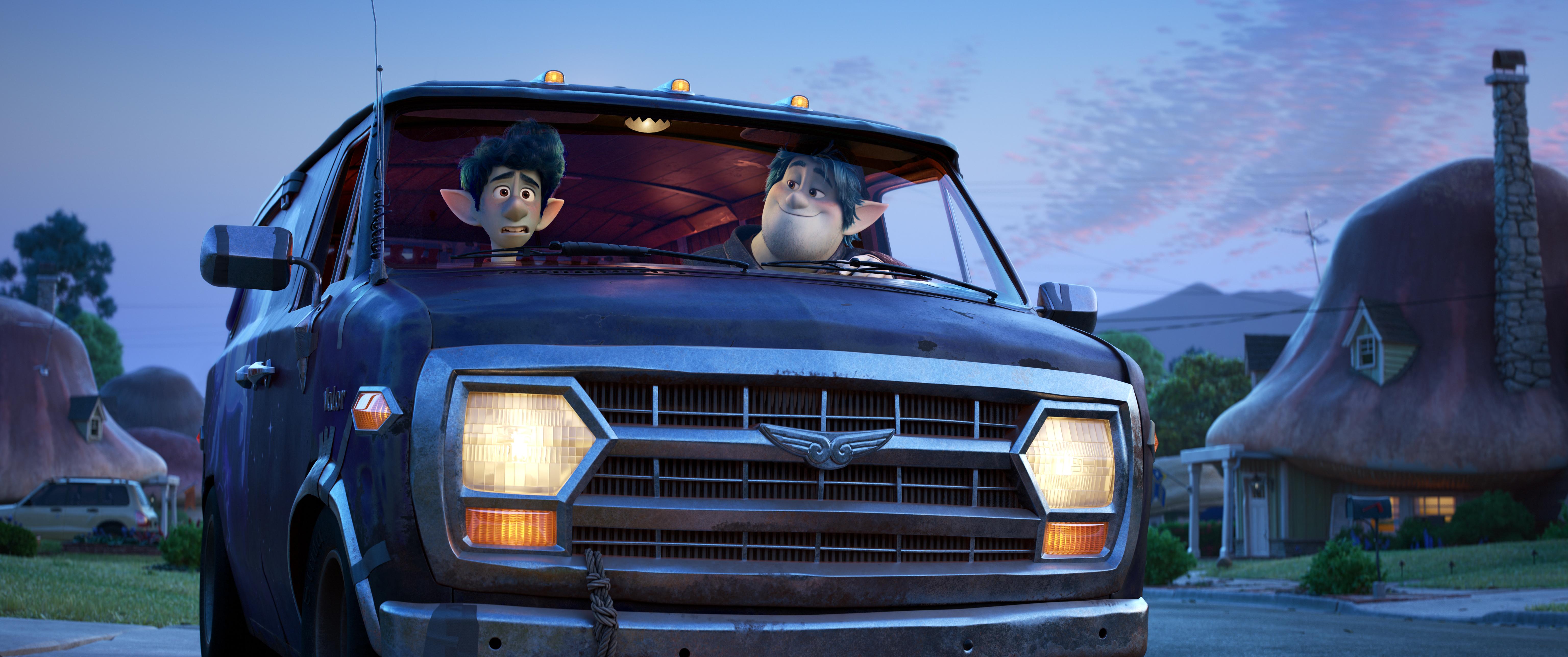 En avant ©2019 Disney/Pixar. Tout droits réservés.