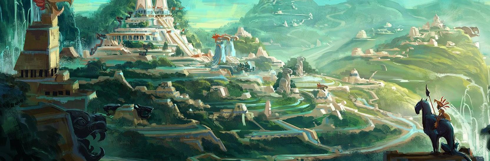 """Découvrez une nouvelle image de """"Maya and the Three"""", la prochaine série Netflix de Jorge R. Gutierrez !"""