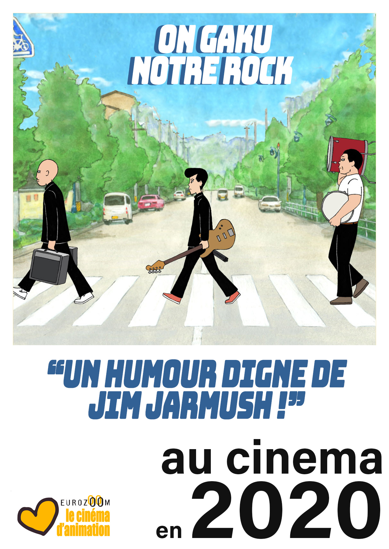 On Gaku, premier poster français