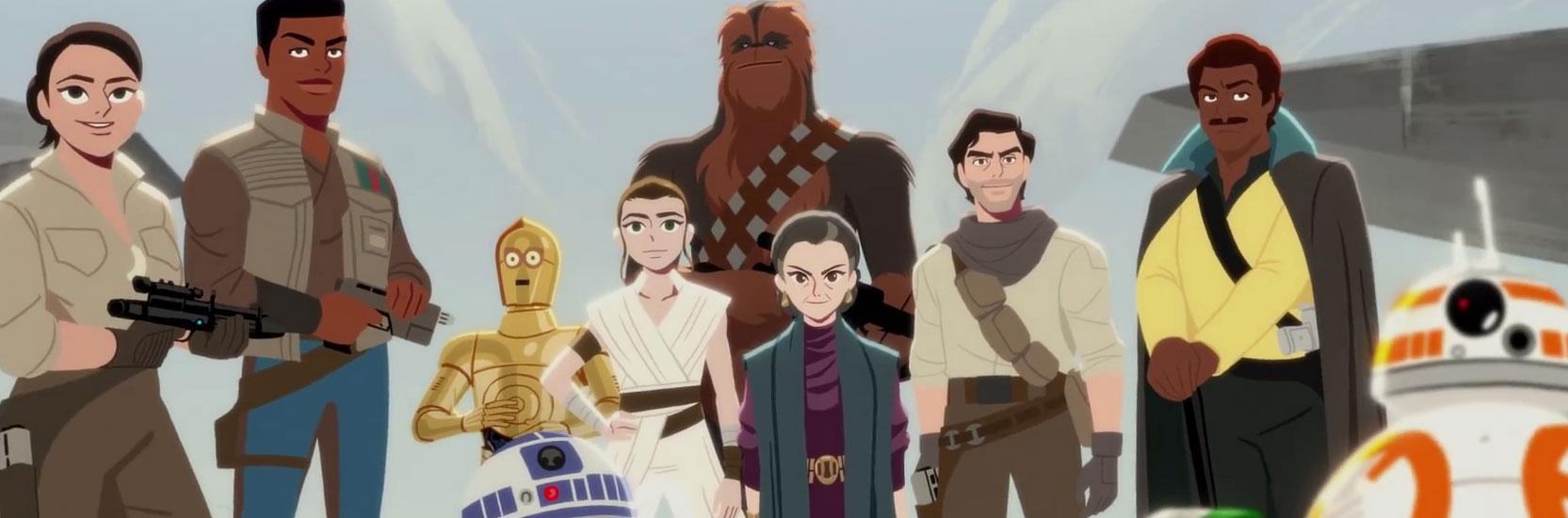 """La saison 2 de """"Star Wars Galaxy of Adventures"""" a débuté !"""