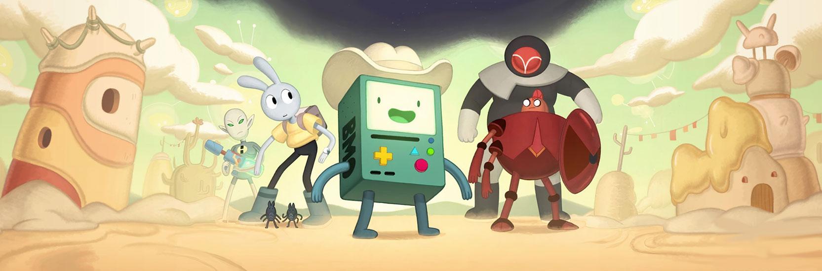 """""""Adventure Time : Le Pays Magique de BMO"""" daté sur CN France"""