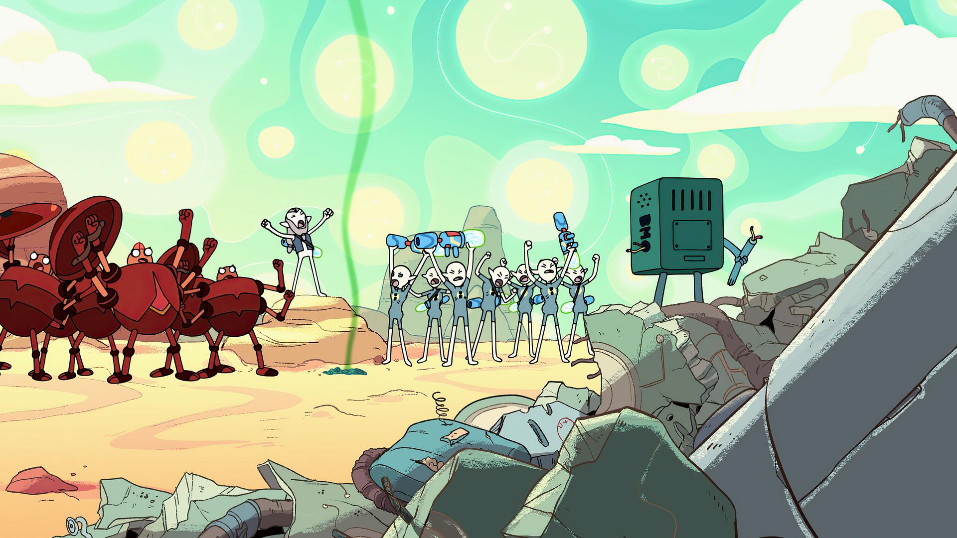 Adventure Time : Le Pays Magique de BMO