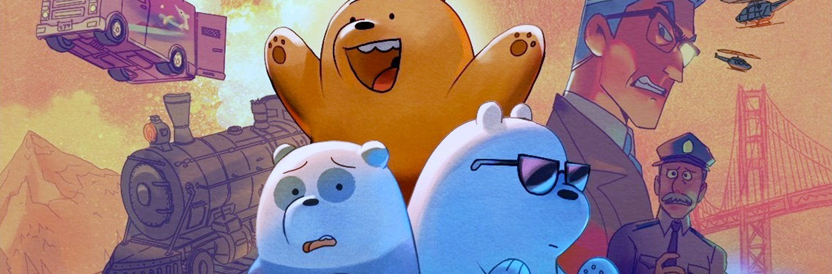 """We Bare Bears – Le Film"" : la conclusion de la série en novembre sur Cartoon Network France"