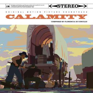 Calamity, une enfance de Martha Jane Cannary, couverture de l'album