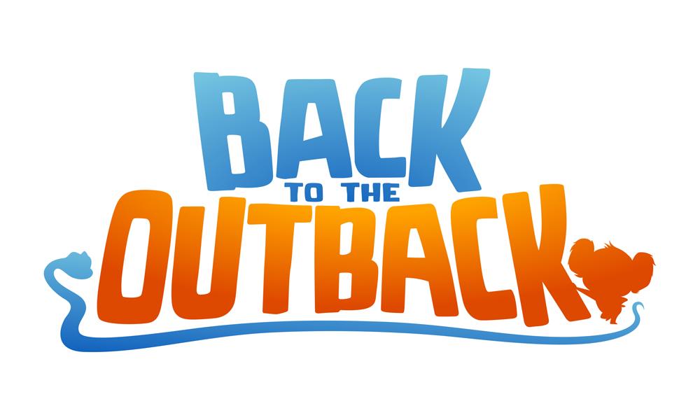 Back to the Outback, logo du film