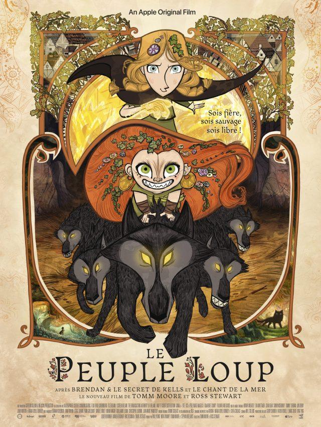 Le Peuple Loup - affiche du film