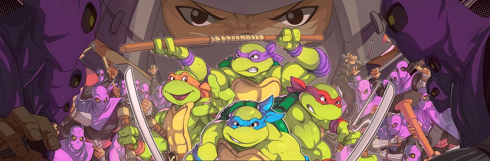"""Teenage Mutant Ninja Turtles : Shredder's Revenge"" dévoile une bande annonce très 80's"